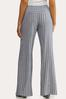 Blue Stripe Linen Pants alternate view