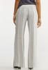 Stripe Linen Palazzo Pants alternate view