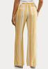 Gold Stripe Linen Pants alternate view