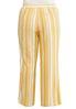 Plus Size Gold Stripe Linen Pants alternate view