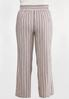Plus Size Americana Striped Pants alternate view