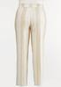 Plus Size Sailor Button Linen Pants alternate view