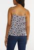 Pleated Floral Tank alternate view