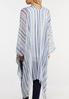 Blue Stripe Kimono alternate view