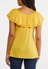Plus Size Convertible Ruffled Top alternate view