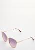Vented Cateye Sunglasses alt view