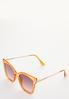 Colored Lucite Fashion Sunglasses alt view