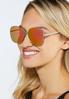 Mirrored Square Sunglasses alt view