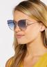 Metal Rim Cateye Sunglasses alt view