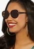 Capetown Round Tort Sunglasses alternate view