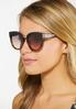 Tort Bottom Round Sunglasses alt view