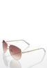 White Enamel Sunglasses alternate view
