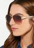 White Enamel Sunglasses alt view