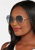 Blue Trim Sunglasses alt view