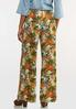 Tropical Floral Gauze Pants alternate view