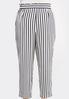 Plus Size Stripe Tassel Tie Pants alternate view