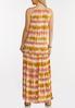 Tiered Tie Dye Maxi Dress alternate view