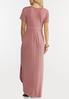 Petite Rose Knotted Maxi Dress alternate view