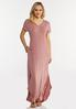 Petite Rose Knotted Maxi Dress alt view