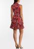 Plus Size Ruffled Americana Dress alternate view