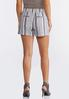 Striped Linen Shorts alternate view