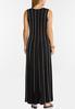 Plus Petite Striped Seamed Maxi Dress alternate view