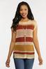 Stripe Open Stitch Sweater alternate view