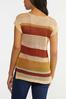 Stripe Open Stitch Sweater alt view