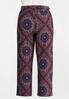 Plus Size Moroccan Tie Front Pants alternate view