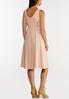 Plus Size Linen Midi Dress alternate view