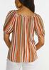 Citrus Stripe Top alternate view