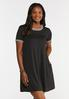 Ribbed Swing Dress alt view