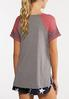 Plus Size Sporty Number Tee alternate view