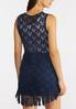 Frayed Star Crochet Vest alternate view