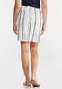 Faded Stripe Mini Skirt alternate view