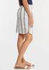 Faded Stripe Mini Skirt alt view