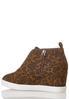 Leopard Wedge Sneakers alternate view