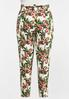 Plus Size Tropical Slim Utility Pants alternate view