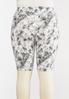 Plus Size Tie Dye Biker Shorts alternate view