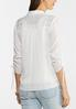 Textured Ruched Sleeve Top alternate view
