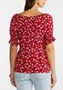 Floral Puff Sleeve Top alternate view
