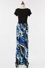 Plus Size Graphic Print Maxi Dress alt view