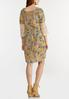 Plus Size Crochet Sleeve Swing Dress alternate view