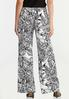 Sketch Floral Palazzo Pants alternate view