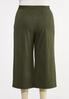 Plus Size Ribbed Cropped Pants alternate view