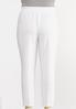 Plus Size Dressy Knit Slim Leg Pants alternate view