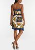 Royal Paisley Wrap Dress alternate view