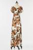 Petite Tropical Tie Waist Maxi Dress alt view