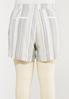 Plus Size Textured Linen Shorts alternate view