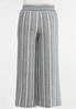 Plus Size Vintage Stripe Linen Pants alternate view
